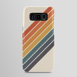 Arida -  70s Summer Style Retro Stripes Android Case