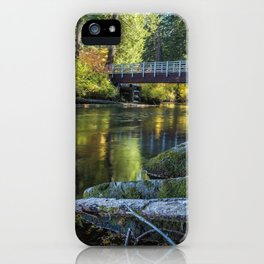 Fall at Clear Lake, No. 1 iPhone Case