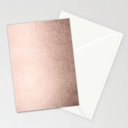 Moon Dust Rose Gold Stationery Cards