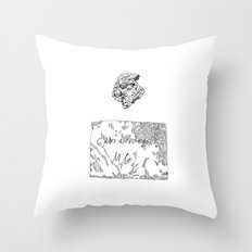 Gruta do Maquiné Throw Pillow