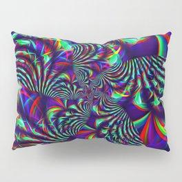 Slime Burst Fractal Pillow Sham