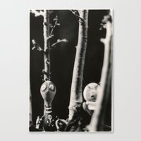tim burton Canvas Prints featuring  the boys - tim burton by PaperTigress