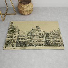 Wesley Hospital 1888 Rug