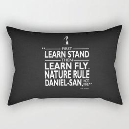 First Learn Stand Rectangular Pillow