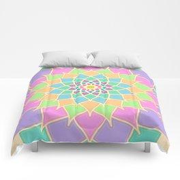 Pastel Lotus Comforters