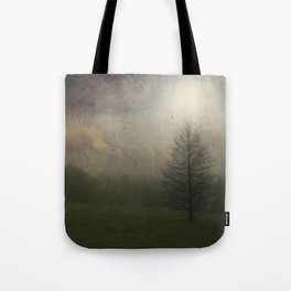 Painted Mist Tote Bag