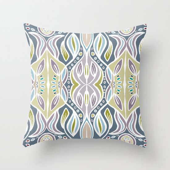 Ocean Migration Throw Pillow