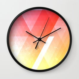 heat meter Wall Clock