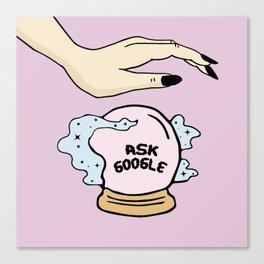 Ask google Canvas Print