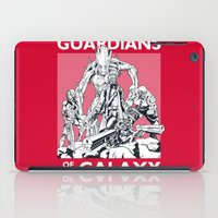 guardians iPad Cases featuring Guardians by LilloKaRillo