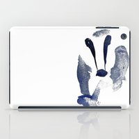 badger iPad Cases featuring Badger by ramalamb