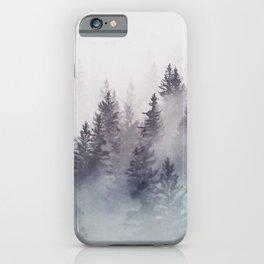 Winter Wonderland - Stormy weather iPhone Case