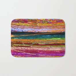 Indian Colors Bath Mat
