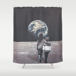 Back to Hometown Shower Curtain