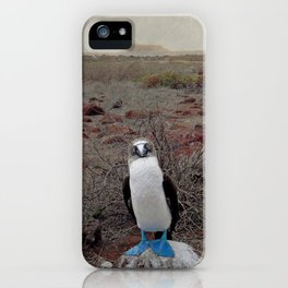 blue is cool iPhone Case