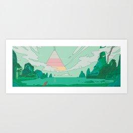 Tyranno Art Print