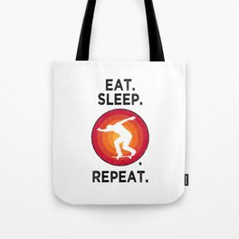 Eat. Sleep. Skating. Repeat. T Shirt Skate TShirt Skater Shirt Vintage Gift Idea  Tote Bag