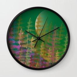 Under Moonlight Wall Clock