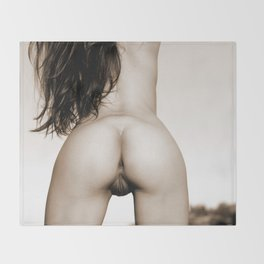 Nice Rear View Throw Blanket