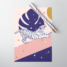Tiger and the Sun II. Wrapping Paper