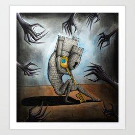 May Mental Monster: Schizophrenia Art Print