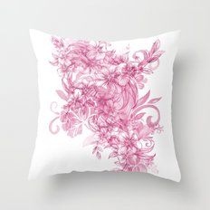 one from the heart Throw Pillow