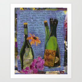 WOODINVILLE WINERIES Art Print