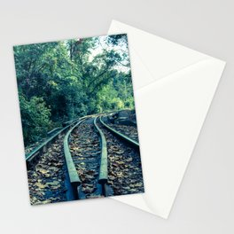 Lead Me into the Light Abstract Colorized Rural Landscape Photo Stationery Cards