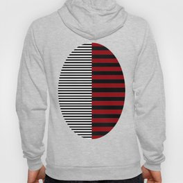 Different Sides (red) Hoody