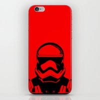 trooper iPhone & iPod Skins featuring Trooper  by Rabassa