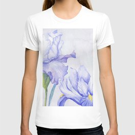 Watercolor Iris T-shirt