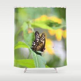 Mountain Flyer Shower Curtain
