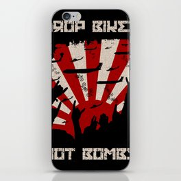 DROP BIKES iPhone Skin