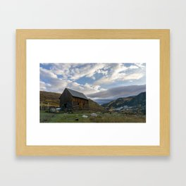 Mad Creek Barn Framed Art Print