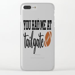 Tailgate Clear iPhone Case