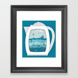 8 CUPS DEEP Framed Art Print