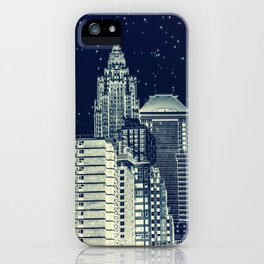 New York. Gotham City. iPhone Case