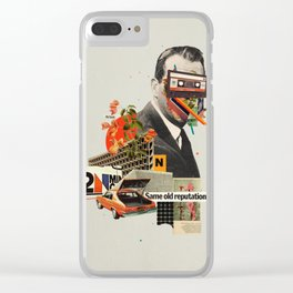 Same Old Reputation Clear iPhone Case