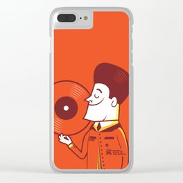 UNDO  Music to the people 08 Clear iPhone Case