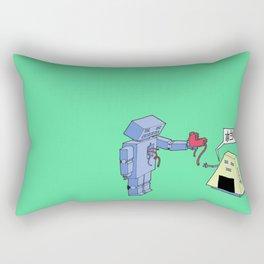本当に?(really?) Rectangular Pillow