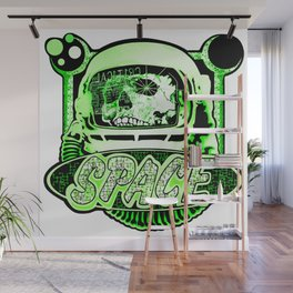 The Space Explorer Wall Mural