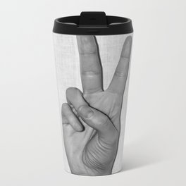 Peace it Metal Travel Mug