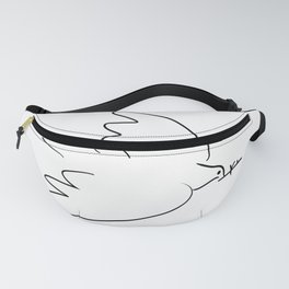 dove inspired from picasso Fanny Pack
