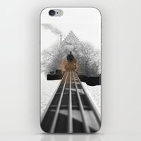 bass iPhone & iPod Skins featuring bass by Ilenia Locci
