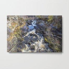 Rogie Falls Metal Print