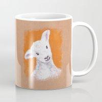 sheep Mugs featuring Sheep by KeithKarloff