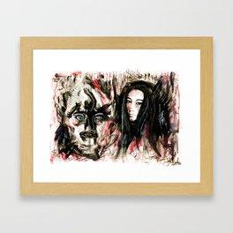 What I Think I Thought I Saw Framed Art Print