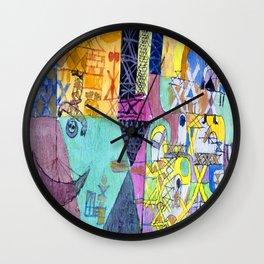 Paul Klee Asian Jugglers Wall Clock