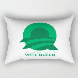 Vote Queen Rectangular Pillow