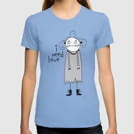 Cute zombie illustration T-shirt